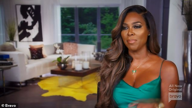 Not a care:Kenya finally declared that she didn¿t care whether Porsha hooked up with Bolo or not, realizing that it was pulling everyone down