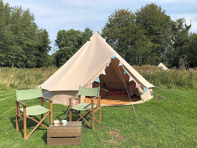 Tourism chiefs say demand for camp sites and UK holiday homes for this summer has boomed - with Britons cautious about trips abroad due to the possibility Covid travel restrictions