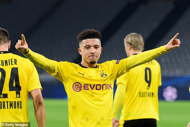 Borussia Dortmund will consider selling Jadon Sancho if an 'exceptional offer' is made for him