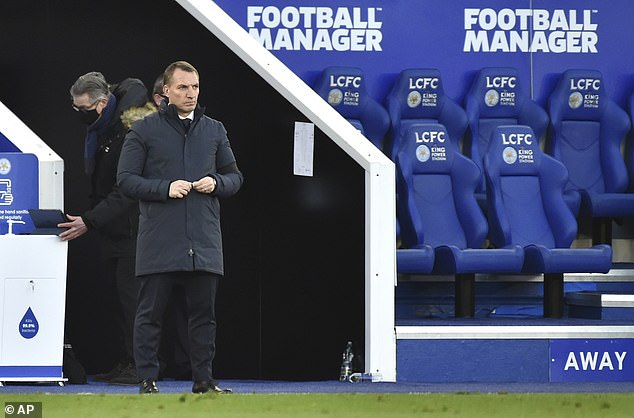 Brendan Rodgers will hope his Leicester side do not fall out the top four late on like in 2019-20