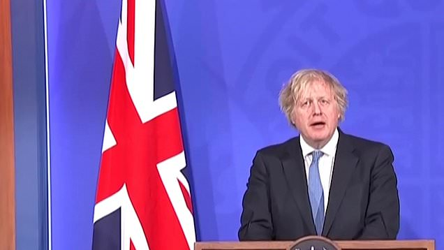 Boris Johnson announces reopening of pubs, hairdressers and gyms