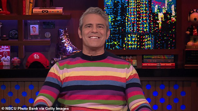 'Oy vey': Andy Cohen has finally addressed the legal controversy surrounding the Real Housewives Of Salt Lake City star, Jen Shah