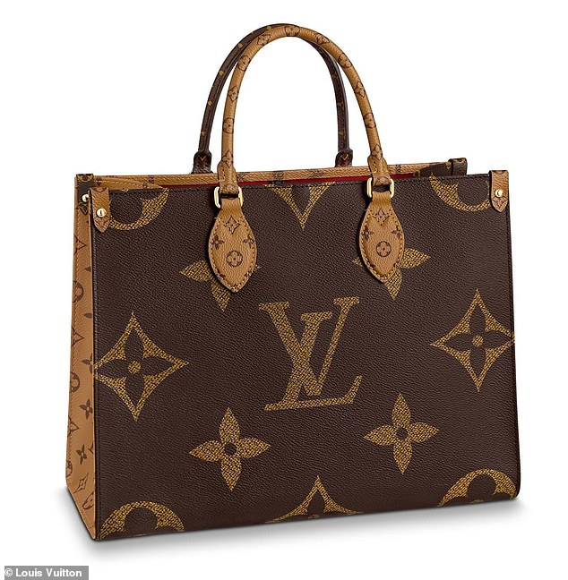 Inspiration: The bags appear to be styled after Louis Vuitton's popular Onthego totes, which cost anywhere from$2,630 to $5,300 depending on the size and style