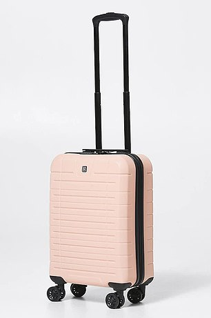 The $69 Mouv hard case small suitcase is already a popular buy among customers for the convenient price