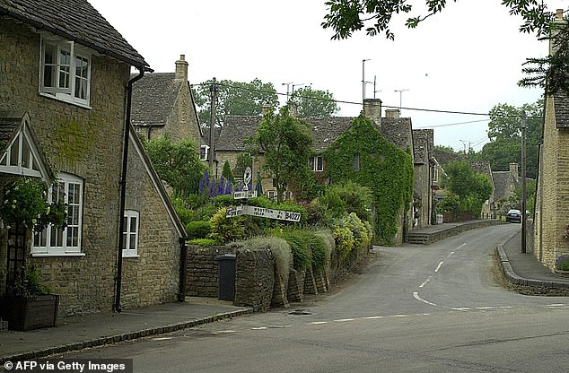 The village of Glympton, which is nestled in the Oxfordshire countryside 3.5miles north of Woodstock