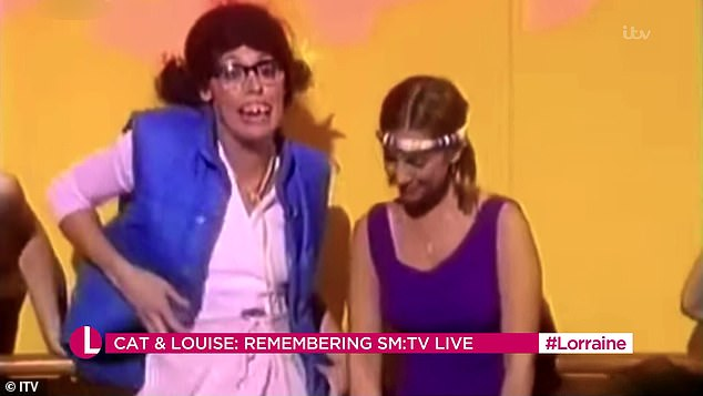 Duo: The pair were seen getting into hilarious scrapes as they starred together in the sketches