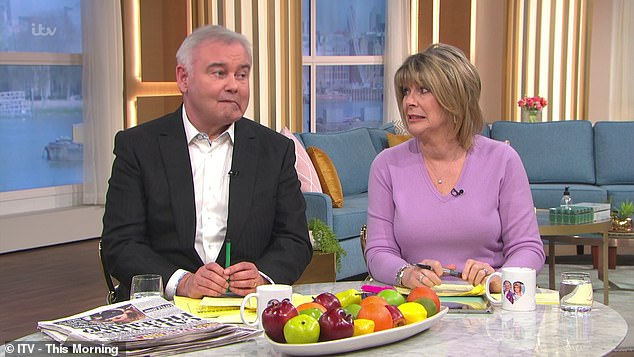 Despite Clodagh asking what the segment had to do with her, Eamonn went on to say that she could be the 'sexiest chef on the internet' if things were to 'go wrong'