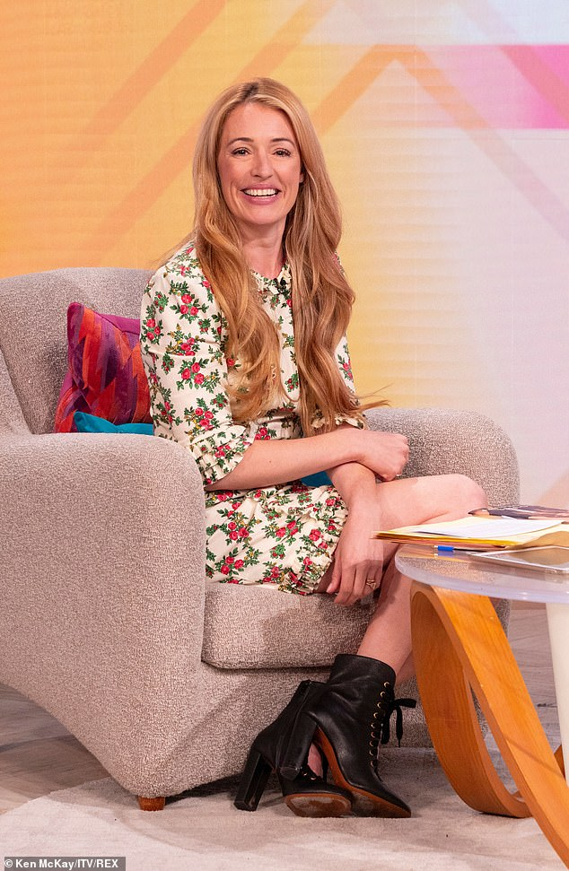 'Ray of sunshine!'Cat Deeley is filling in for Lorraine Kelly this week on her eponymous morning show - and viewers were loving her debut on Tuesday