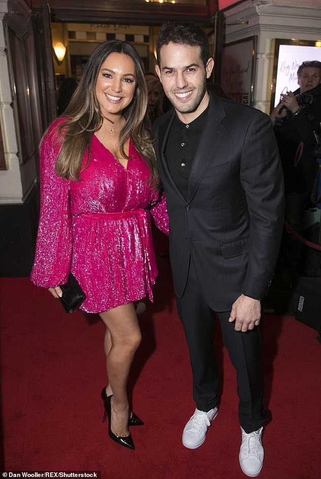 Happy couple: Kelly recently revealed she's considered proposing to boyfriend of six-years Jeremy Parisi on the next leap year (pictured together in 2020)