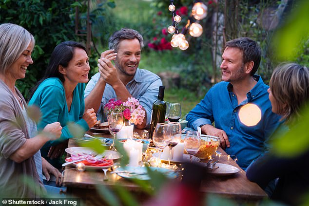 They found that family meal routines, such as sharing food, sitting around a table without digital devices or having a pleasant conversation, are beneficial. Stock image