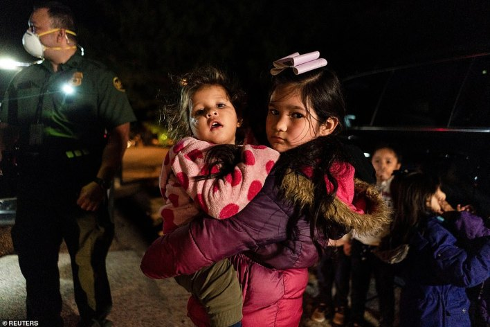 Record numbers of unaccompanied minors have been flooding the southern border as Biden vows not to turn them away