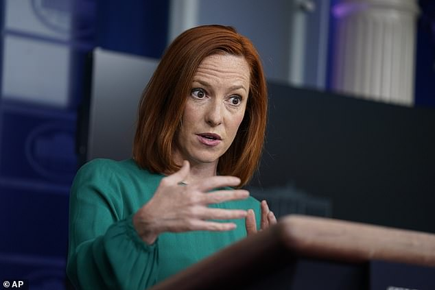 White House press secretary Jen Psaki rejected Republican claims that Colorado and Georgia have similar voting laws - which GOP Georgia Gov. Brian Kemp pushed after the All-Star Game was moved out of Atlanta for Denver