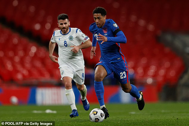 Ex-England midfielder Owen Hargreaves backed Jude Bellingham (right) to start at the Euros