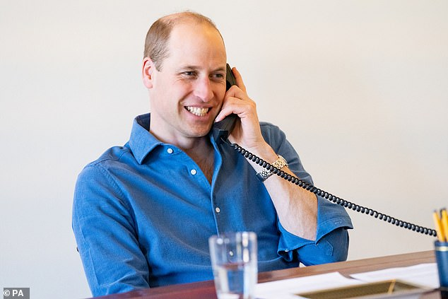 Prince William has paid tribute to the efforts of the NHS and its workers during the pandemic, describing the institution as 'probably the most admired organisation around'.