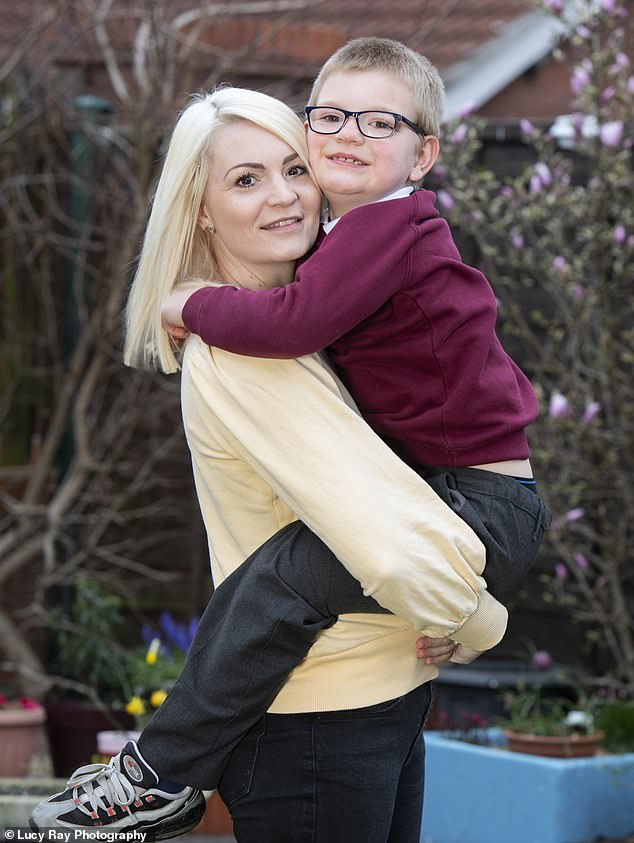 When Samantha Baker was told her three-week-old baby Harrison Ellner was brain dead, and that if he did survive his meningitis, he wouldn't be able to walk, talk or feed himself, she agreed that his life support should be turned off