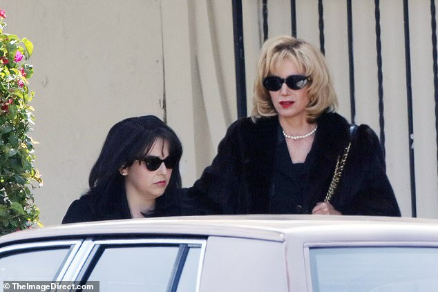 Star-studded:Mira and Beanie join a star-studded cast, including Clive Owen as President Clinton, Edie Falco as First Lady Hillary Clinton and Betty Gilpin as Ann Coulter
