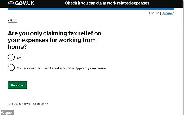 Read Carefully: There are rules about what additional costs you can and cannot claim for working from home tax relief