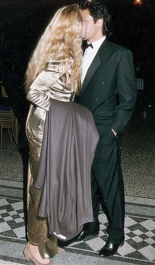 Imran Khan and US actress Jerry Hall