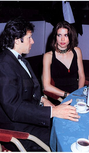 Khan with his ex-fiancee Kristiane Backer