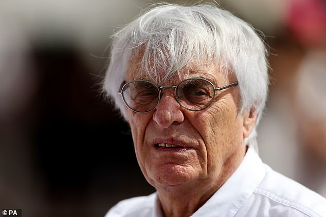 His say: The billionaire former F1 boss, 90, said that neither Tamara or her sister Petra had broken any anti-Covid laws by jetting to different countries and had good reasons to do so