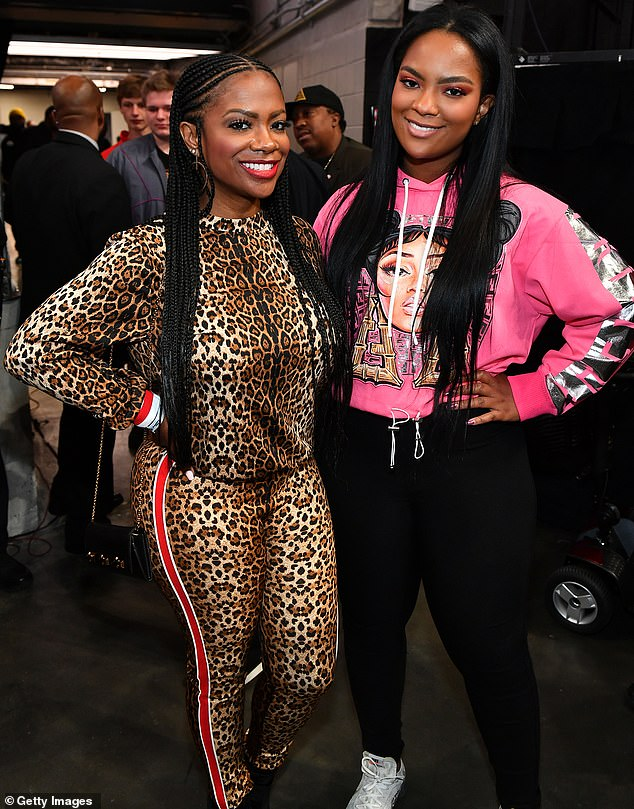 Showbiz legacy: Other cast members on the upcoming children's special of Watch What Happens Live include Kandi Burruss' (left) daughter Riley, 18 (right)