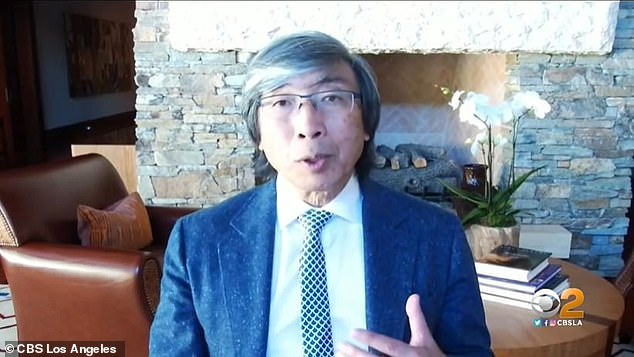 One of the developers, Dr Patrick Soon-Shiong (pictured), part-owner of the Los Angeles Lakers, says the new vaccine would also generate T cells, which bind to and kill viruses