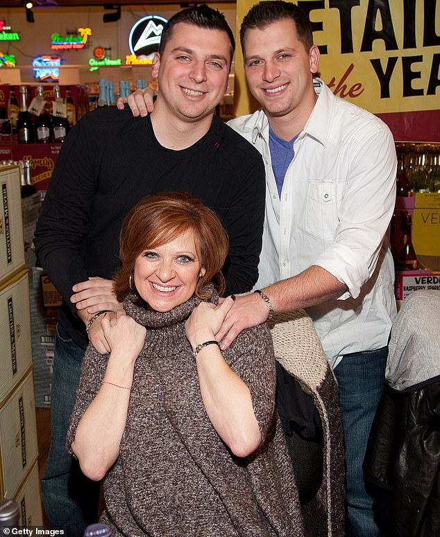 Proud mama: The legendary former New Jersey Housewife Caroline Manzo's sons Albie, 34, and Christopher, 32, who co-host the Dear Albie podcast, will be on as well