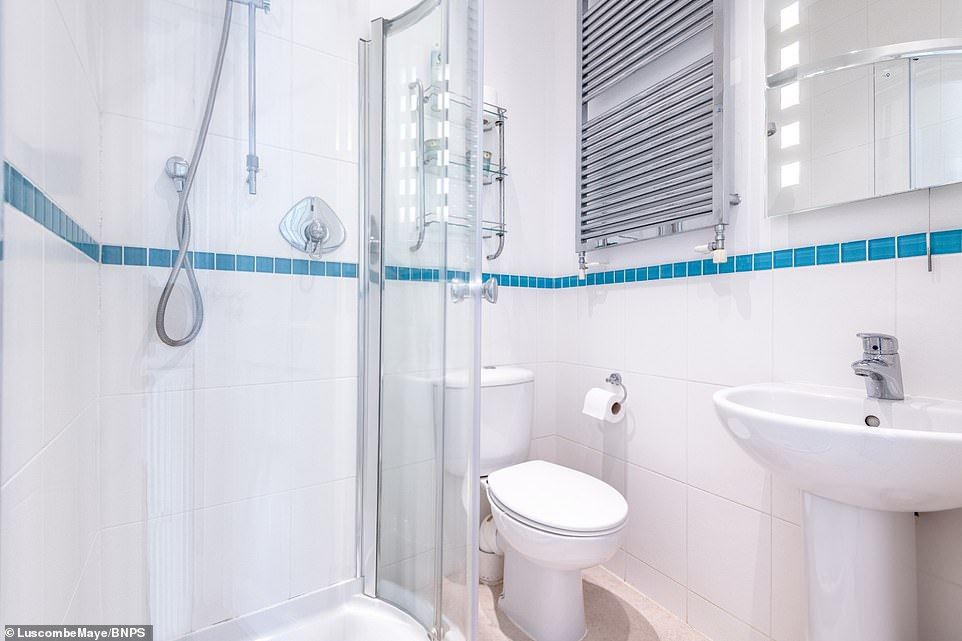 The traditional fisherman's cottage also features two fully furnished shower rooms on the second floor of the property