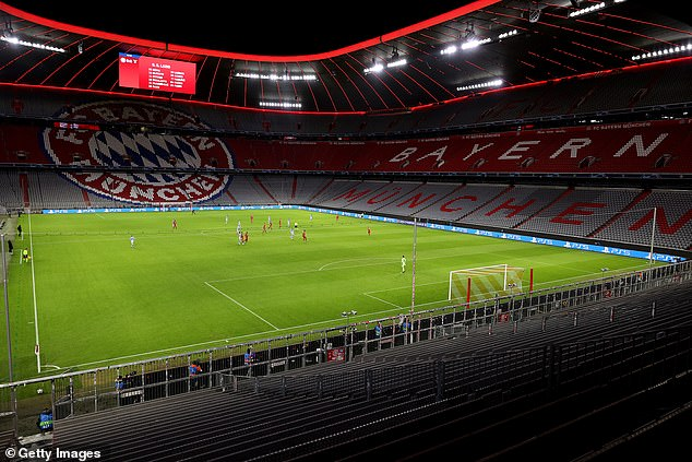 Bayern have lost between £ 3.5 and 4.3million in revenue per game per game, while their 75,000-capacity Allianz Arena has been without fans.