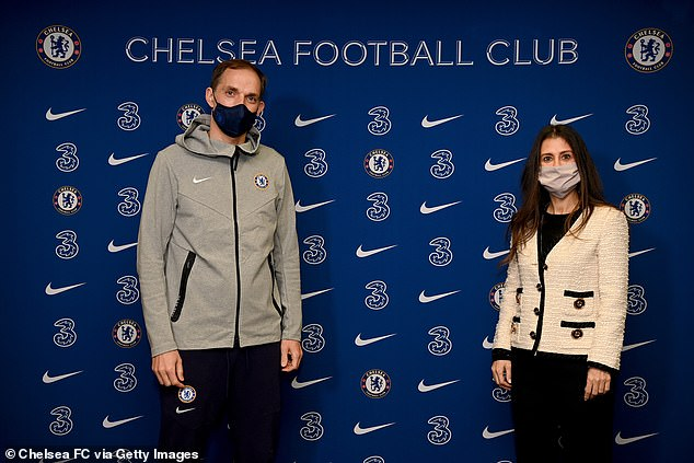 Granovskaia welcomes Chelsea manager Thomas Tuchel to the club in January