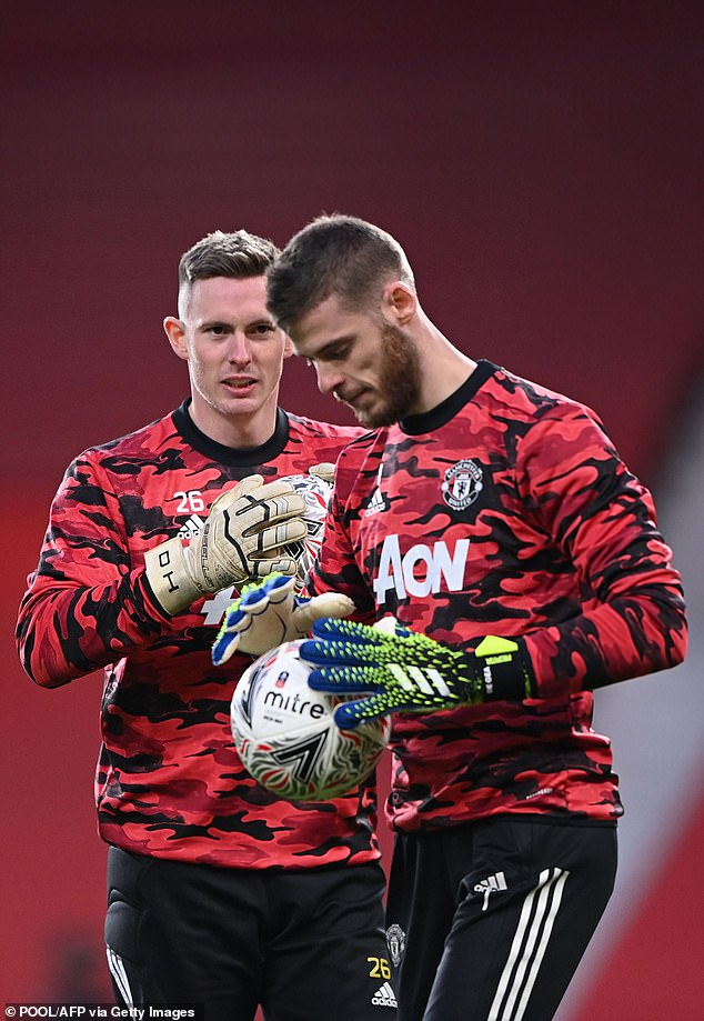 Dean Henderson and David De Gea must wait to see who gets the nod against Granada