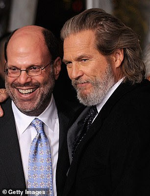 Rudin pictured with True Grit star Jeff Bridges