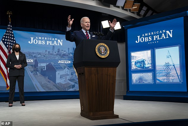 President Joe Biden got visibly angry as he pointed out how America was falling behind the rest of the world, singling out China as particularly problematic during remarks he gave to shore up support for his $2.3 trillion infrastructure plan