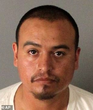 Caught: William Sotelo, the final suspect to be arrested in 2016, was one of the gang members Jaimie spoke to on MySpace