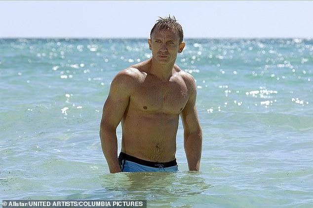 Daniel Craig as James Bond in the 2006 film Casino Royale