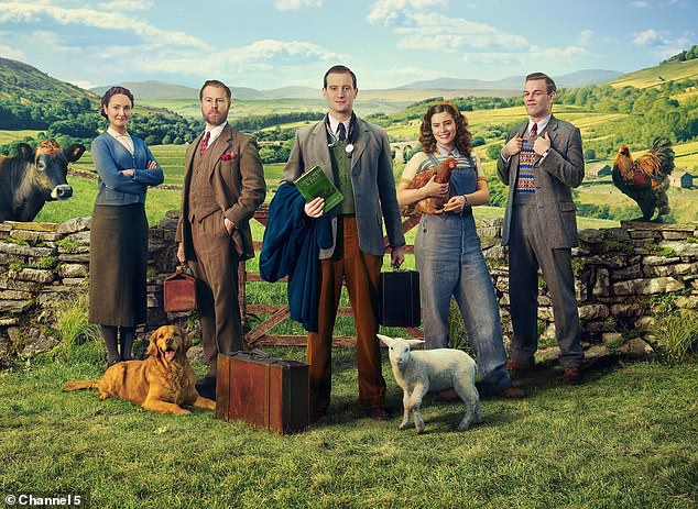 Return: Channel 5 renewed All Creatures Great and Small reboot for a second series after its debut drew a record five million viewers