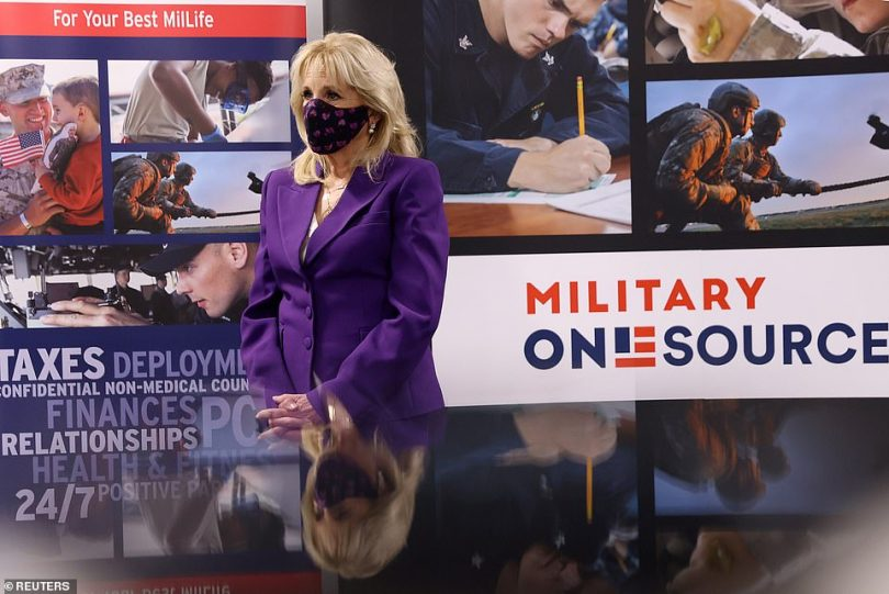 Jill Biden launched the 'next chapter' of Joining Forces, the initiative for military families she started with Michelle Obama