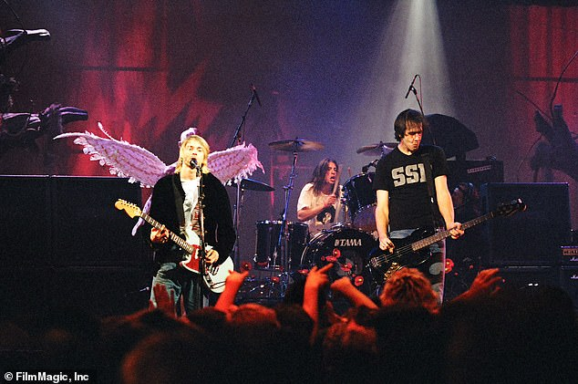 Mimicking Nirvana's instrumentals proved difficult, producers said, because Kurt Cobain didn't favor easily identifiable riffs like Morrison or Hendrix