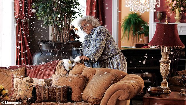Blockbuster:Madea first appeared on the big screen in 2005's Diary of a Mad Black Woman, which earned $50.7m domestically on a $5.5million budget