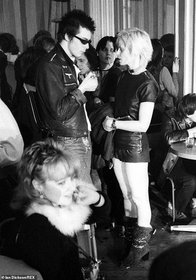 Punk chic: With Sex Pistol Sid Vicious