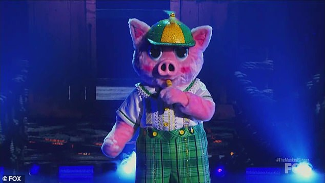 Heartfelt Interpretation: Piglet sang a heartfelt 7-year-old rendition of Lukas Graham that left Jenny in tears as she thought of her 18-year-old son, Evan