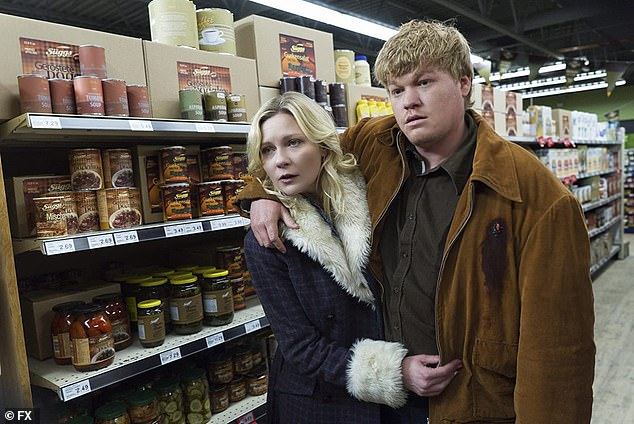 Work romance: The couple started their relationship in 2016 after starring in FX's second season of Fargo in 2015