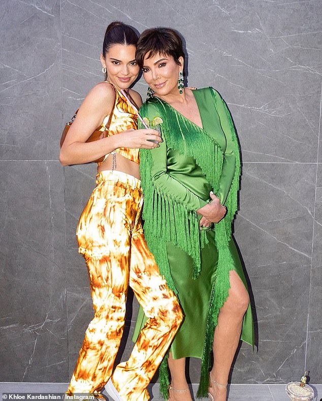 Financial frontrunners: Kris is worth $190M and Kendall is estimated to be worth about $45M in part to her modeling career and endorsement deals