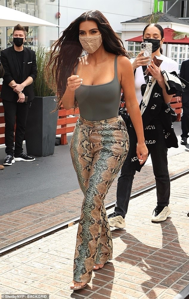 Mega-famous: Kim parlayed her reality television career into a super lucrative enterprise for she and her famous family