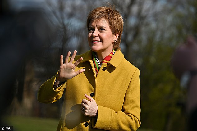 But it is forecast to take 3 per cent of the list vote, which would be enough to derail Ms Sturgeon's hopes of governing alone in Scotland.