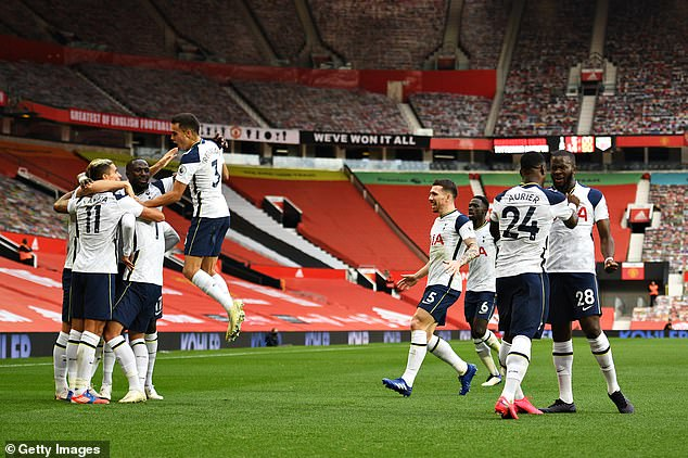 Tottenham's season has been mainly downhill since they thrashed United 6-1 in October