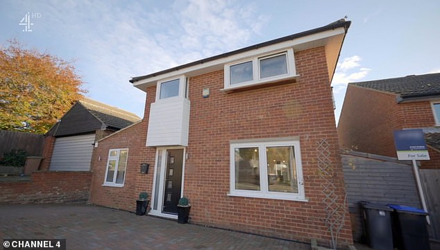 Location Location Location viewers were left stunned last night when a couple looking to buy their first house revealed they had a budget of £430,000 - and managed to bag a bargain property priced at £100,000 less (pictured)