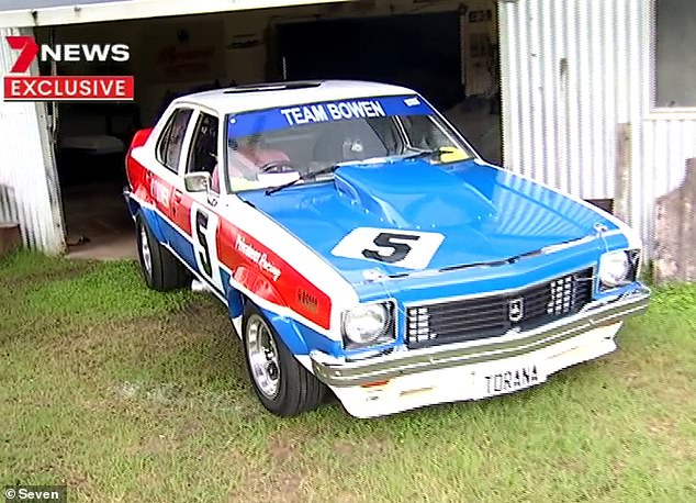 Rod Bowen rebuilt a Torana around the engine he bought completely unaware it was one of Peter Brock's Bathurst race cars