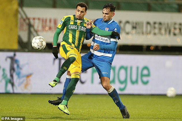 Morrison (left) cancelled his contract at Dutch club ADO Den Haag four months into his spell