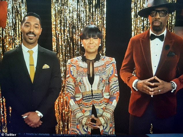 Hosts: The AAFCA 2021 Awards were hosted by (de LR) The United States vs Billie Holiday, actor Tone Bell, The Neighborhood actress Tichina Arnold and funnyman Curb Your Enthusiasm JB Smoove